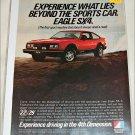 1980 American Motors Eagle SX4 car ad