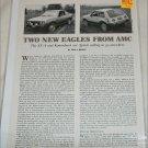 1981 American Motors Eagle SX4 & Kammback drive report