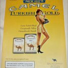 2000 Camel 100's Turkish Blend Cigarette ad