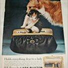 1957 Lady Buxton Bill Purse ad