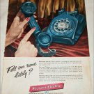 1956 Western Electric Felt Our Name ad