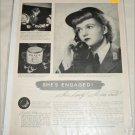 1943 Ponds Cold Creme ad