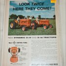 1958 Allis-Chalmers D-17 & D-14 tractor ad