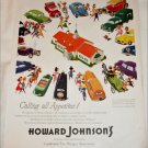 1954 Howard Johnsons ad