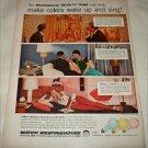 1956 Westinghouse Light Bulbs ad