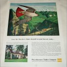 1957 Weyerhauser Timber Company Good Forestry ad