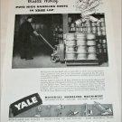 1946 Yale Machinery ad