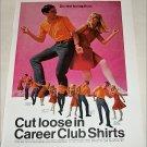 1967 Career Club Shirts ad