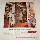 1958 Western Electric Making Short Work ad