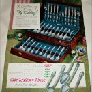 1950 1847 Rogers Brothers Silverplate Christmas ad