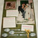 1950 1847 Rogers Brothers Silverplate Wedding ad