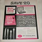 1956 1847 Rogers Brothers Silverplate ad