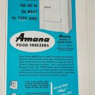 1951 Amana Food Freezer ad