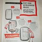 1947 Coolerator Refrigerator ad
