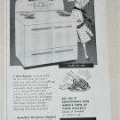 1950 Crosley Electric Range ad