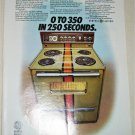 1972 GE 500 XL Electric Range ad