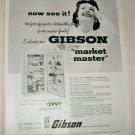 1955 Gibson Market Master Refrigerator ad