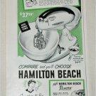 1951 Hamilton Beach Electric Mixer ad