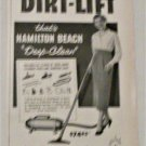 1951 Hamilton Beach Deep-Clean Vacuum Cleaners ad