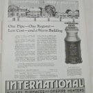 1924 International Heater Company ad