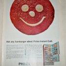 1965 Philco Instant Cold Refrigerator ad