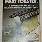 1971 Presto Meat Toaster ad