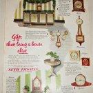 1951 Seth Thomas Clocks ad