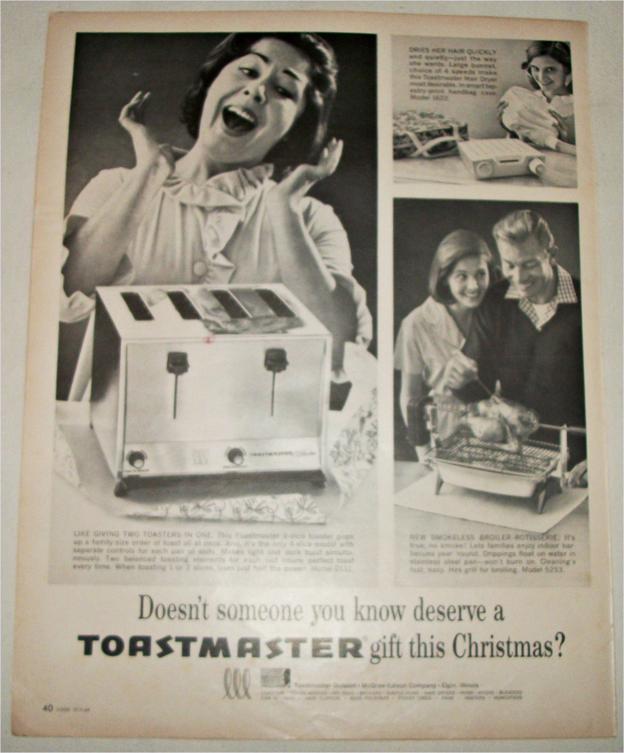 1964 Toastmaster Appliances ad