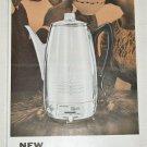 1958 Universal Coffeematic ad