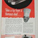 1951 Wear-Ever Aluminum Toaster ad