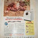 1951 Westinghouse Laundromat ad