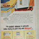 1951 Whirlpool Automatic Dryer ad