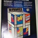 1987 GE Spotscrubber Washing Machine ad