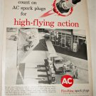 1961 AC Fire-Ring Spark Plugs ad #1