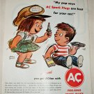 1962 AC Fire-Ring Spark Plugs ad #1