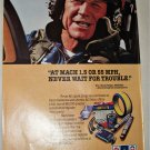 1986 AC-Delco Parts ad featuring Chuck Yeager