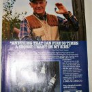 1987 AC Spark Plugs ad featuring Chuck Yeager