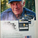 1988 AC-Delco Battery ad featuring Chuck Yeager