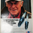 1990 AC Spark Plugs ad featuring Chuck Yeager