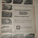1965 Amco Luggage Racks ad