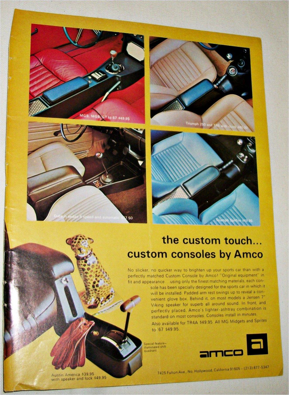 Amco Custom Consoles ad