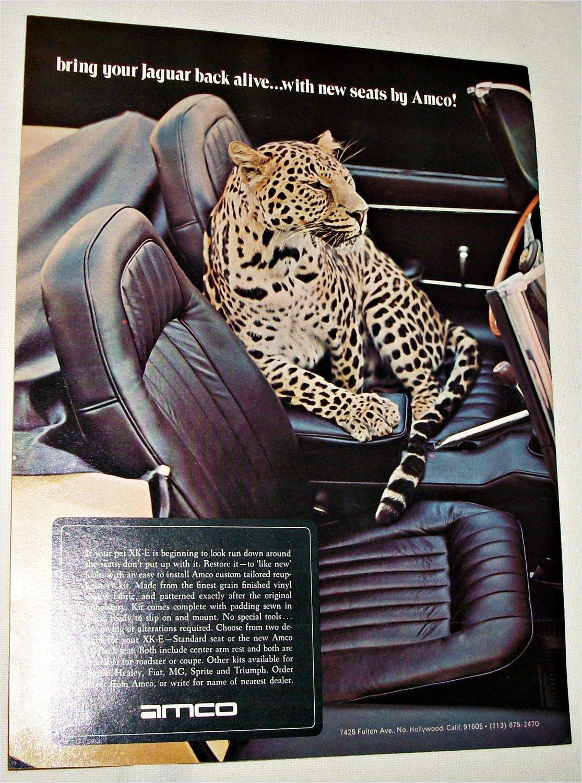 1972 Amco Seats ad