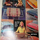 1974 Amco Luggage Racks ad