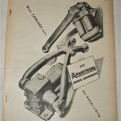 1955 Armstrong Shock Absorbers ad from the UK