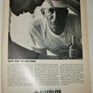 1963 Auto-Lite Our Man In Daytona Spark Plug ad