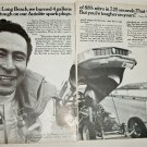 1970 Auto-Lite Spark Plugs ad featuring Danny Ongais