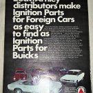 1972 Beck/Arnley Auto Parts ad