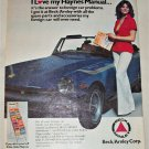 1978 Beck/Arnley Auto Manuals ad