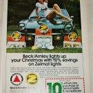 1979 Beck/Arnley Auto Lights Christmas ad