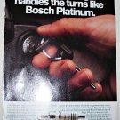 1990 Bosch Platinum Spark Plugs ad